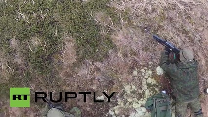 Latvia: NATO Baltic Battalion conduct drills to 'liberate Riga from enemy forces'