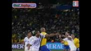 28.06 Сащ - Бразилия 2:3 Лусио - Победен Гол - Бразилия Шампион