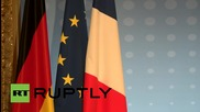 France: Merkel & Hollande give joint presser after Normandy Format talks