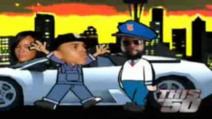 Анимация : 50 Cent Vs. Rick Ross 3 (смяяяях!)