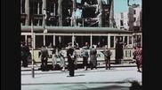 Берлин след войната през 1945 година (цветно видео)