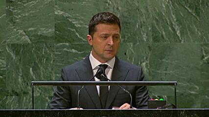 UN: 'This is the price of reform' - Zelensky addresses UNGA on his aide's apparent assassination attempt