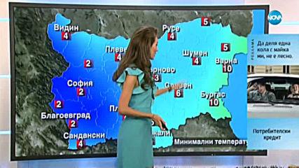 Прогноза за времето (11.12.2019 - централна емисия)