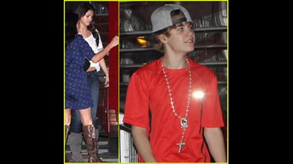 Selena Gomez and Justin Bieber in Miami