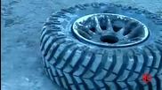 Хитър начин за напомпване на гума