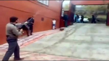 Първият учебен в ден в Чечения