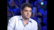 Ром разплака Поли Генова X-factor (14.09.2011)