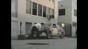 #скриване на хубава кола
