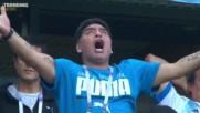 Марадона и неговите реакции - герои в Русия 2018