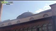 Протестиращите в Пловдив изпочупиха стъклата на джамията на Джумаята 14 02 2014