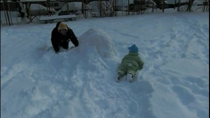 Криси на снега 2010