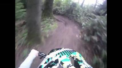 Go Pro - Downhill - Високо качество