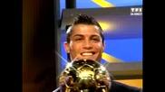 Кристиано Роналдо спечели златната топка