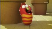 Смешна анимация - Ларва (сезон2) - еп.7 (хъркане&глупава гъба)