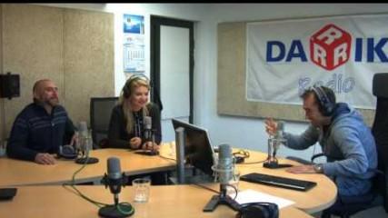 Йоанна Драгнева и Калин Вельов при Драго в Дарик радио