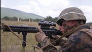 Американските пехотинци на военно учение в България