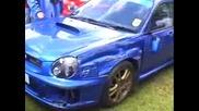 Неуспешен Drift На Subaru Sti И Удар В Стената