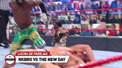 ESTA NOCHE en #RAW: WWE Ahora, Jun 14, 2021