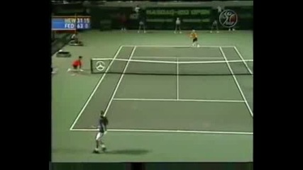 Ms Miami 2002 Хюит vs Федерер