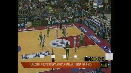"""""""Монтепаски Сиена"""" спечели Купата на Италия по баскетбол"""