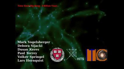 Вижте развитието на Вселената в 78 секунди