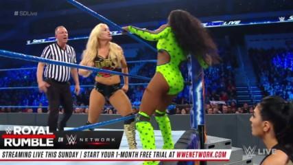 Naomi vs. Mandy Rose: SmackDown LIVE, Jan. 22, 2019