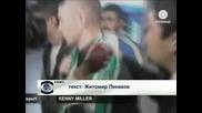 """Феновете на """"Бурсаспор"""" посрещнаха Кени Милър като месия"""