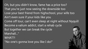 Eminem - My Darling [lyrics]