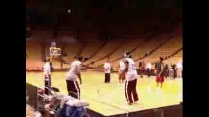 Basketball Impossible Shot
