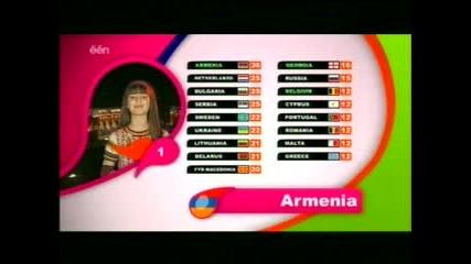 Junior Eurovision 2007 - Гласуване(част 1)