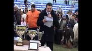 16.01.2010 Награда за най - оригинален кукерски костюм - Крупник (фестивал Симитли)