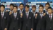 Южна Корея отлетя за финалната проверка срещу Гана