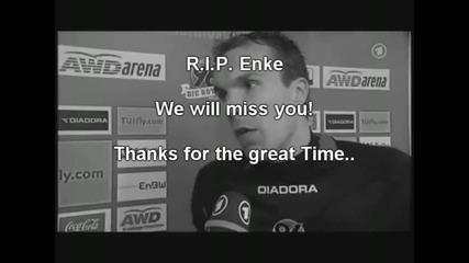 Ужасна трагедия вратярят Роберт Енке се самоуби [ 24.08.1977 - 10.11.2009 ] Vbox7