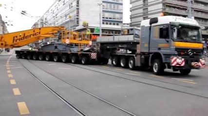 Най-големите камиони за извънгабаритни товари