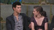 Kristen Stewart. Robert Pattinson & Taylor Lautner on Twilight Special Part 2