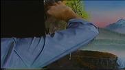 S02 Радостта на живописта с Bob Ross E12 - планински водопад ღобучение в рисуване, живописღ