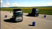 Кубрат и Тервел Пулеви в реклама на Volvo