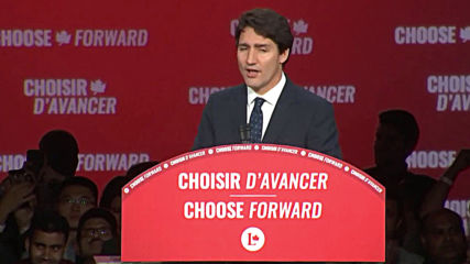 Canada: 'We'll continue what we started' - PM Trudeau on election victory