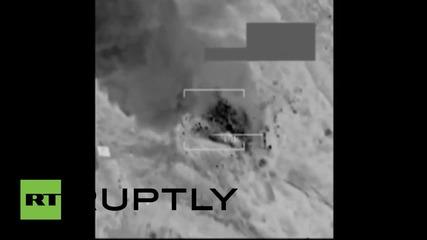 Американски въздушни удари срещу подозрителни превозни средства на ИД близо до Тал Афар в Ирак