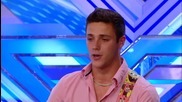 The X Factor Uk 2013 - Barclay Beale's Yodeleyeehoo -- Room Auditions Week 2