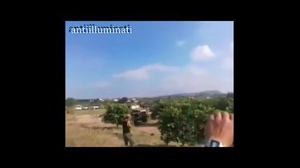 Сирийската армия бомбардира терористите в планината Идлиб