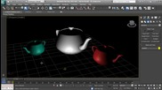 3d Studio Max - базово осветление урок