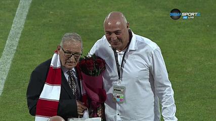 Димитър Пенев бе почетен за 75-ата си годишнина