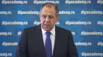 Russia: Brussels attacks confirm need for Putin's anti-terror coalition - Lavrov
