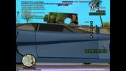 Gta San Andreas Multiplayer az razroshix reklamata na gaziranata napitka s tazi kola