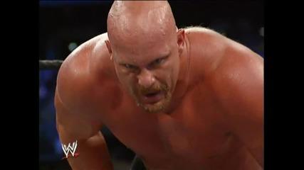The Rock vs Steve Austin at Wrestlemania 19 (part 2)