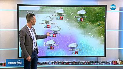 Прогноза за времето (11.12.2019 - обедна емисия)