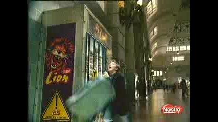 Реклама - Nestle Lion