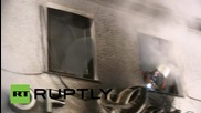 Germany: Suspected arson attack on building next to refugee shelter