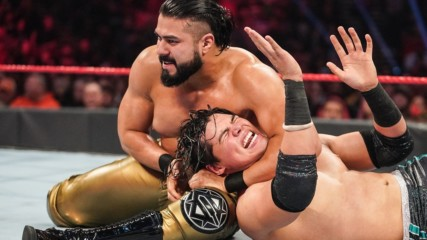 Humberto Carrillo vs. Andrade: Raw, Dec. 9, 2019